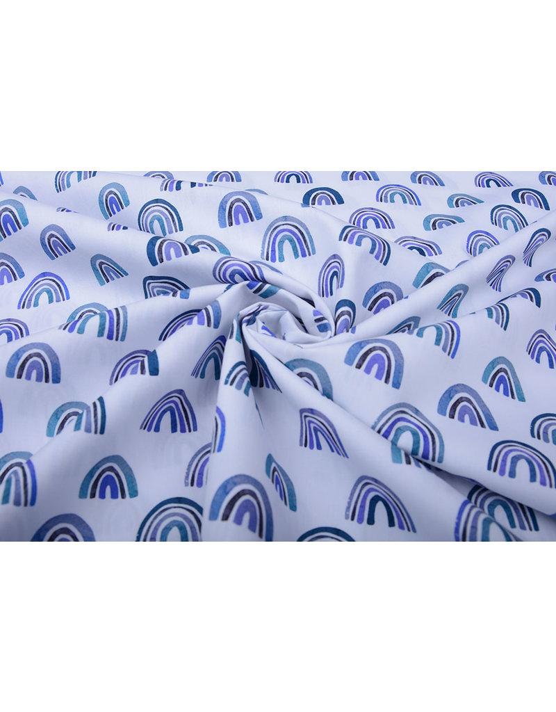 Stenzo 100% Baumwolle Regenbogen Blau