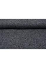 Gewebte WollStoff Grau