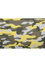 Mi & Joe Mi & Joe French Terry Camouflage Geel