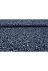 Stenzo 100% Baumwolle Pantherdruck Jeans Blau