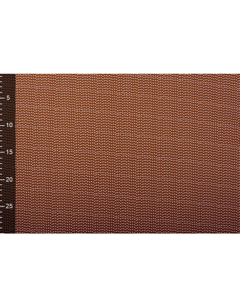 Stenzo 100% Baumwolle Dreieck Rust Brique