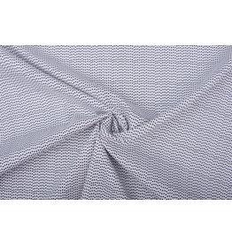100% Baumwolle Dreieck Weiß