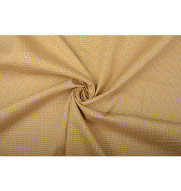100% Cotton Triangle Ocher Yellow