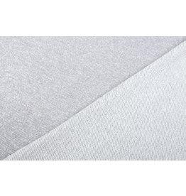 French Terry Sweatshirt Fabric Light Grey Melange