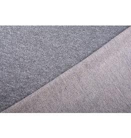 French Terry Sweatshirt Fabric Grey Melange