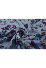 Jogging Alpenfleece Pony Girl Gang Jeans Glitter