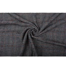 Woolen Fabric Tartan Brique