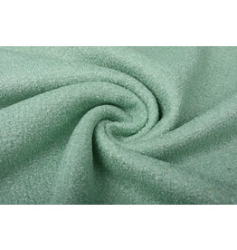 Knitted Woolen Fabric Lana Old Green