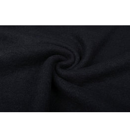 Knitted Woolen Fabric Lana Black