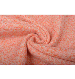 Knitted Woolen Fabric Lanoso Orange