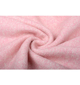 Knitted Woolen Fabric Lanoso Light Pink