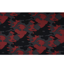 Jogging Camouflage Dark Red