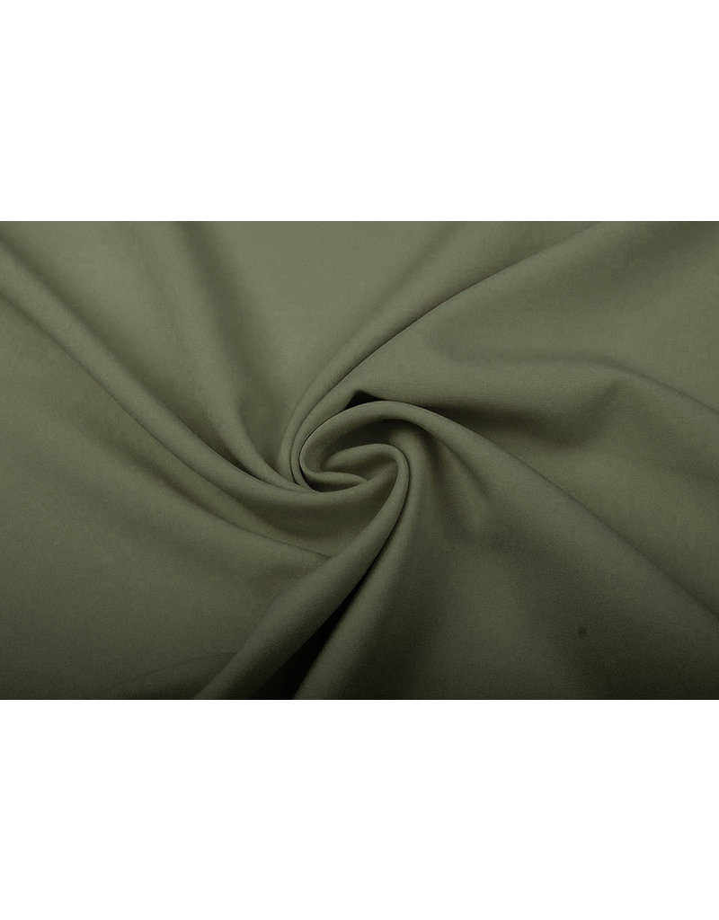 Oeko-Tex®  Bi-Stretch Kaki groen