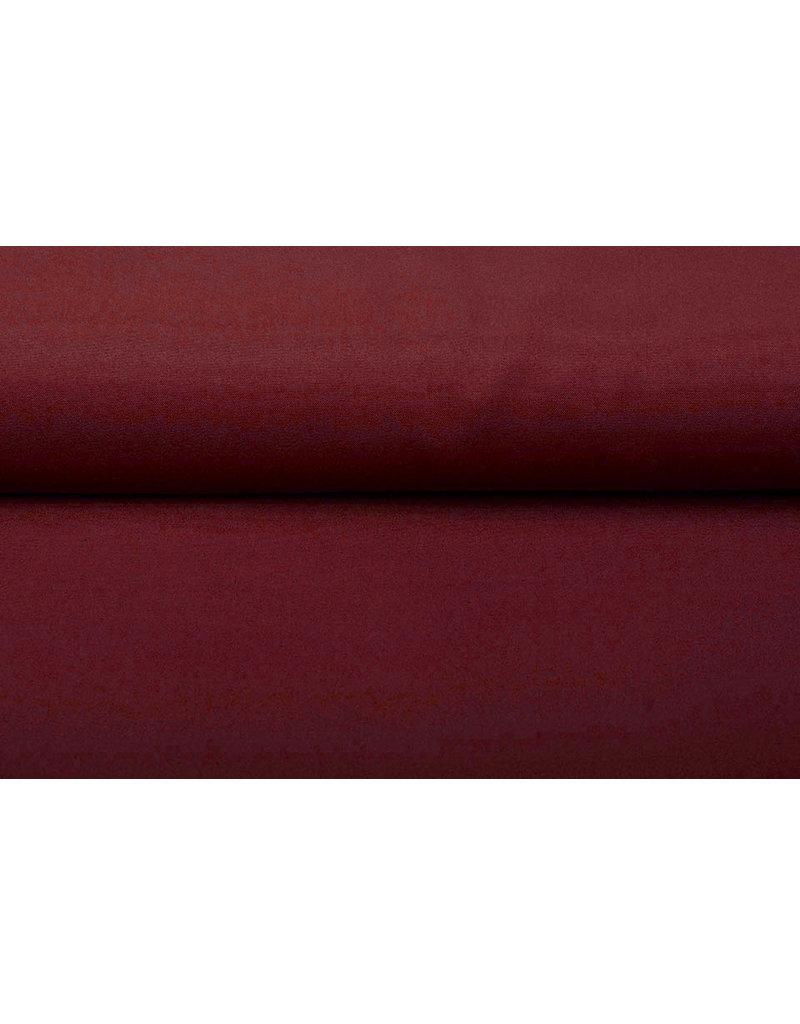 Oeko-Tex®  Bi-Stretch Wijn rood