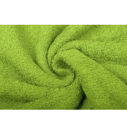 Frottee Limettengrün