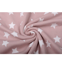 Jogging Alpenfleece Small star Old Pink