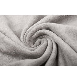 Stretch Terry Cloth Silver