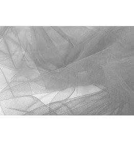 Wedding Tule Silver Grey