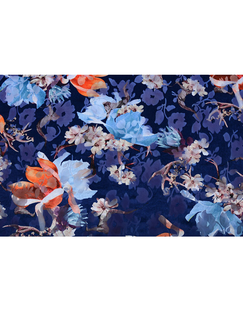 Ausbrenner Burno Lush Flower Blau