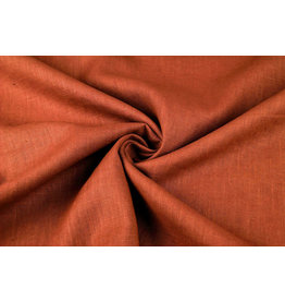 Washed Linen Rust brique
