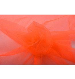Tüll Fluorescent Tangerine