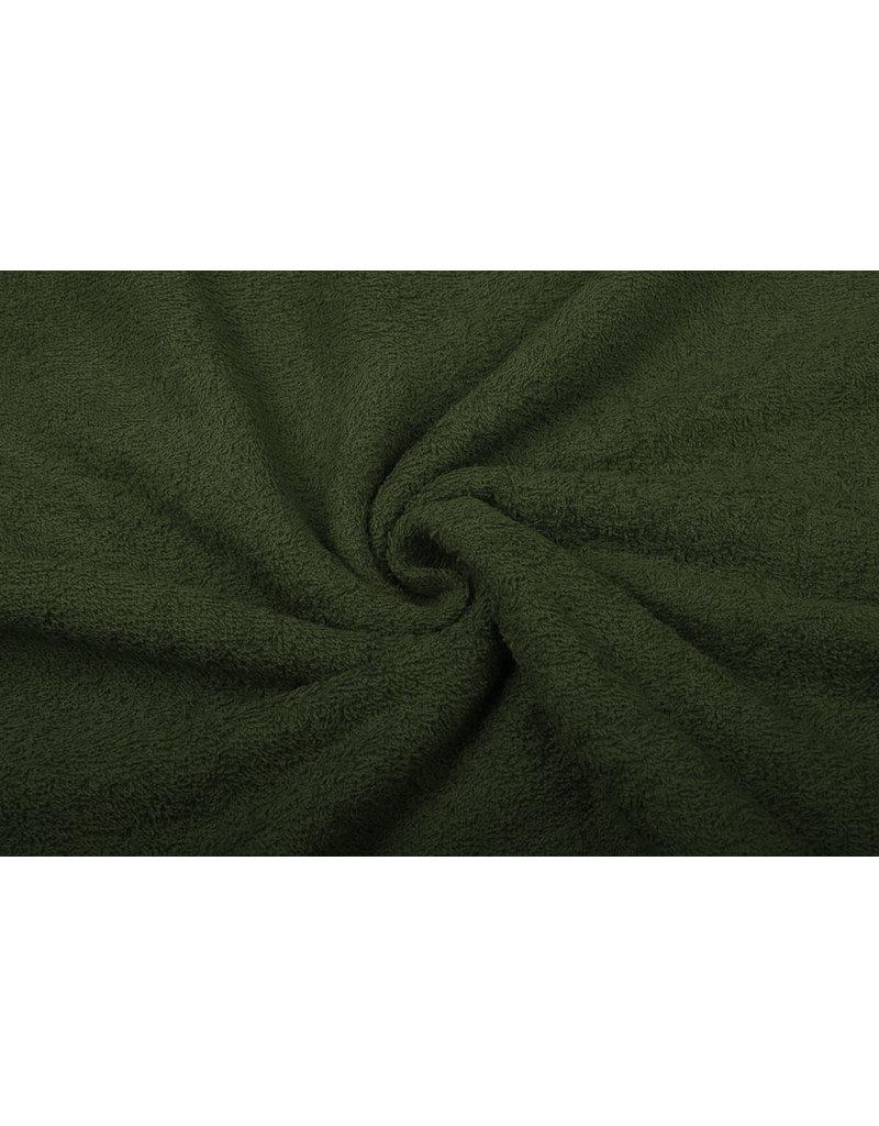 Badstof Army Groen