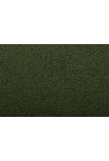 Frottee Armeegrün