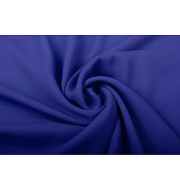 Crêpe Georgette  Royal Blue