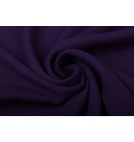 Crêpe Georgette  Dark purple