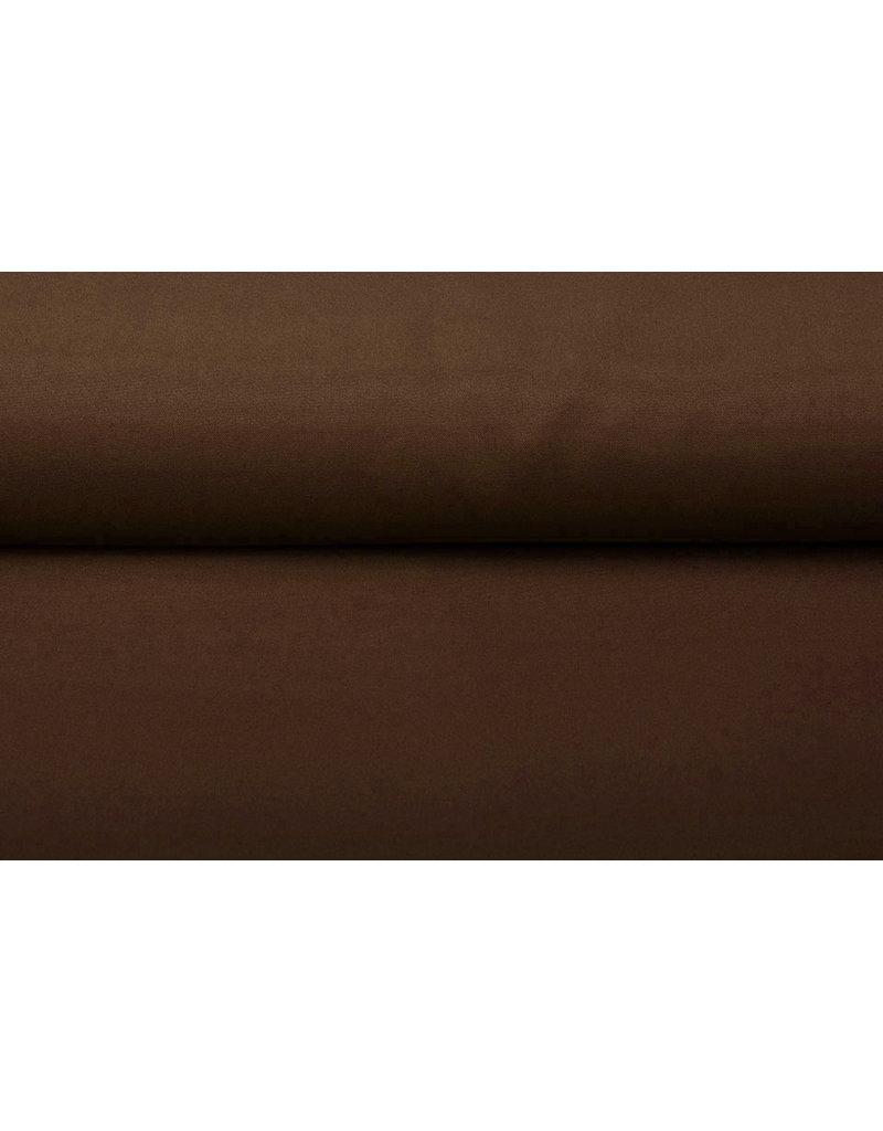 Oeko-Tex®  Bi-Stretch Mokka bruin