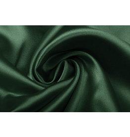 Stretch Satin Dark Green