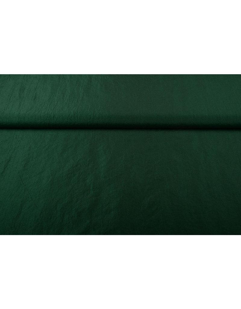 Crinkle Taft Dunkelgrün