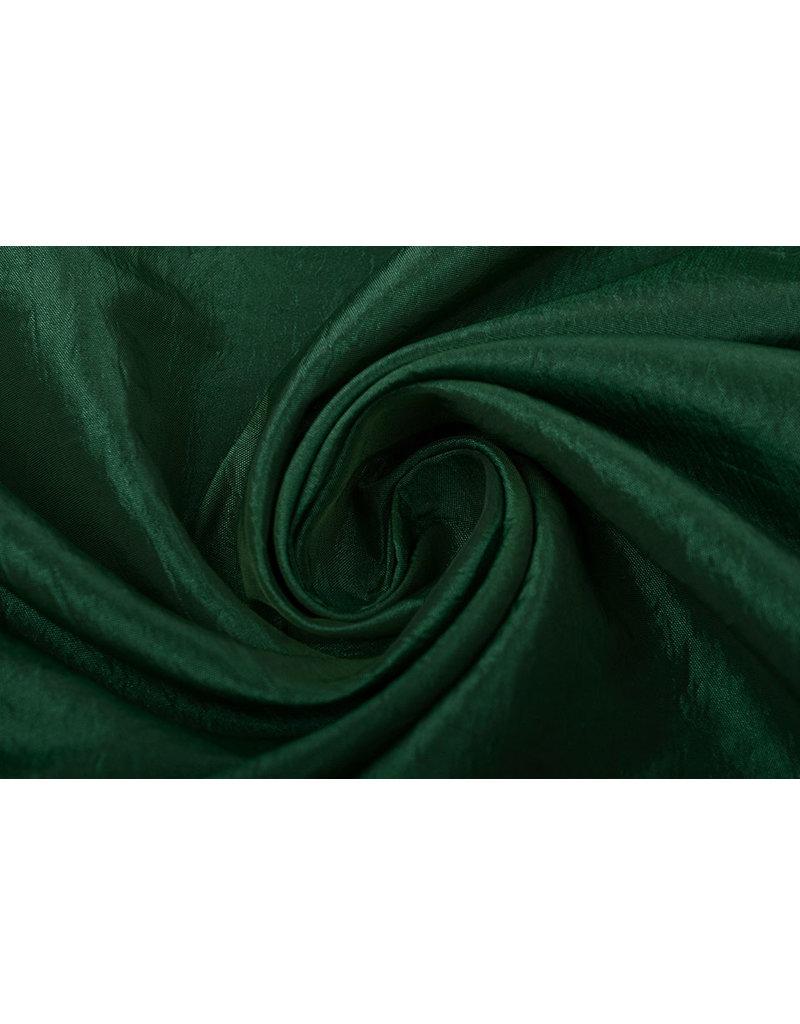 Crinkle Taft Donker groen