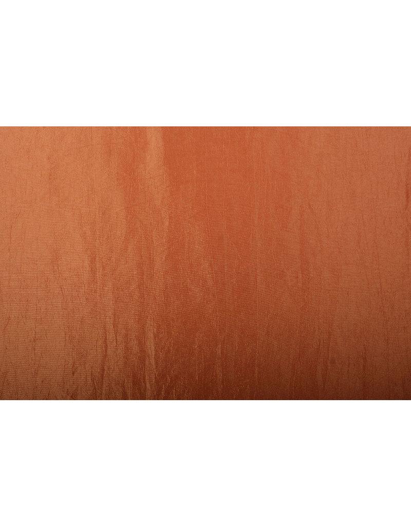 Crinkle Taft Oranje