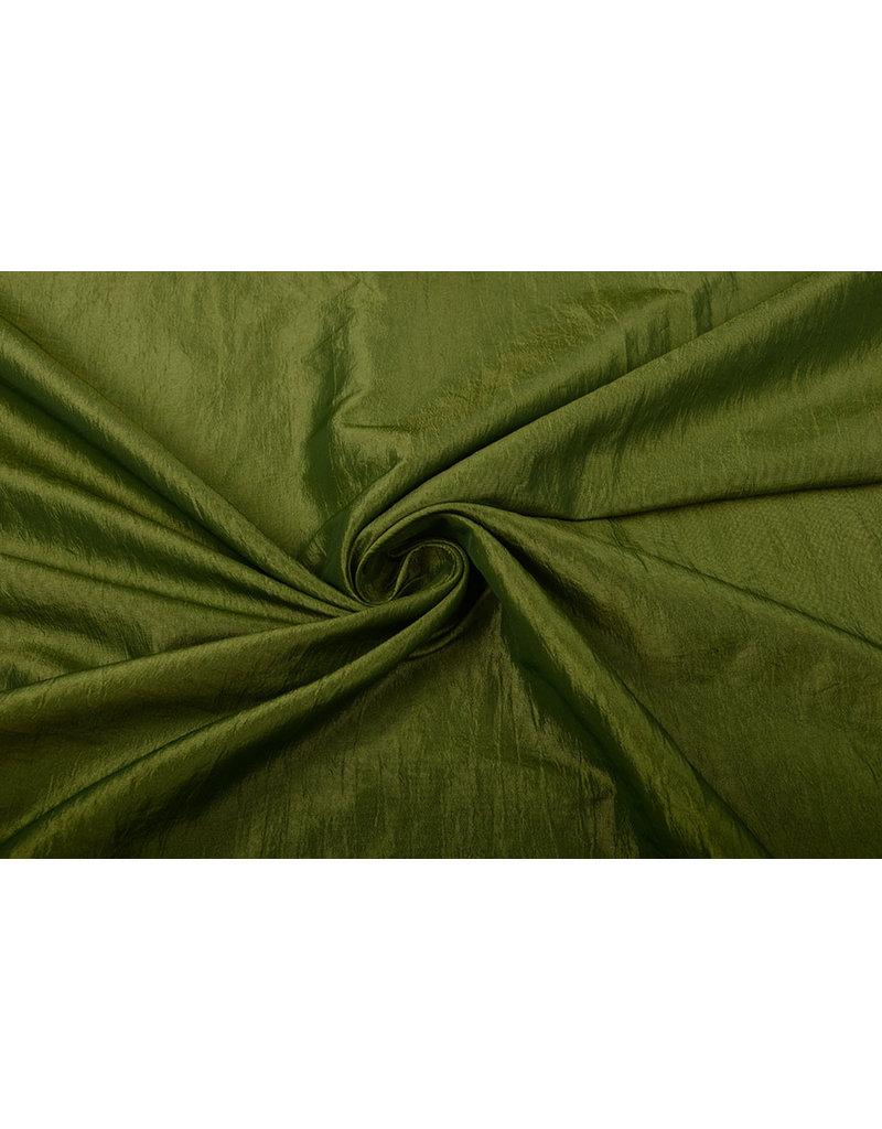 Crinkle Taft Limettengrün