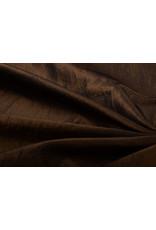 Crinkle Taft Mokka bruin