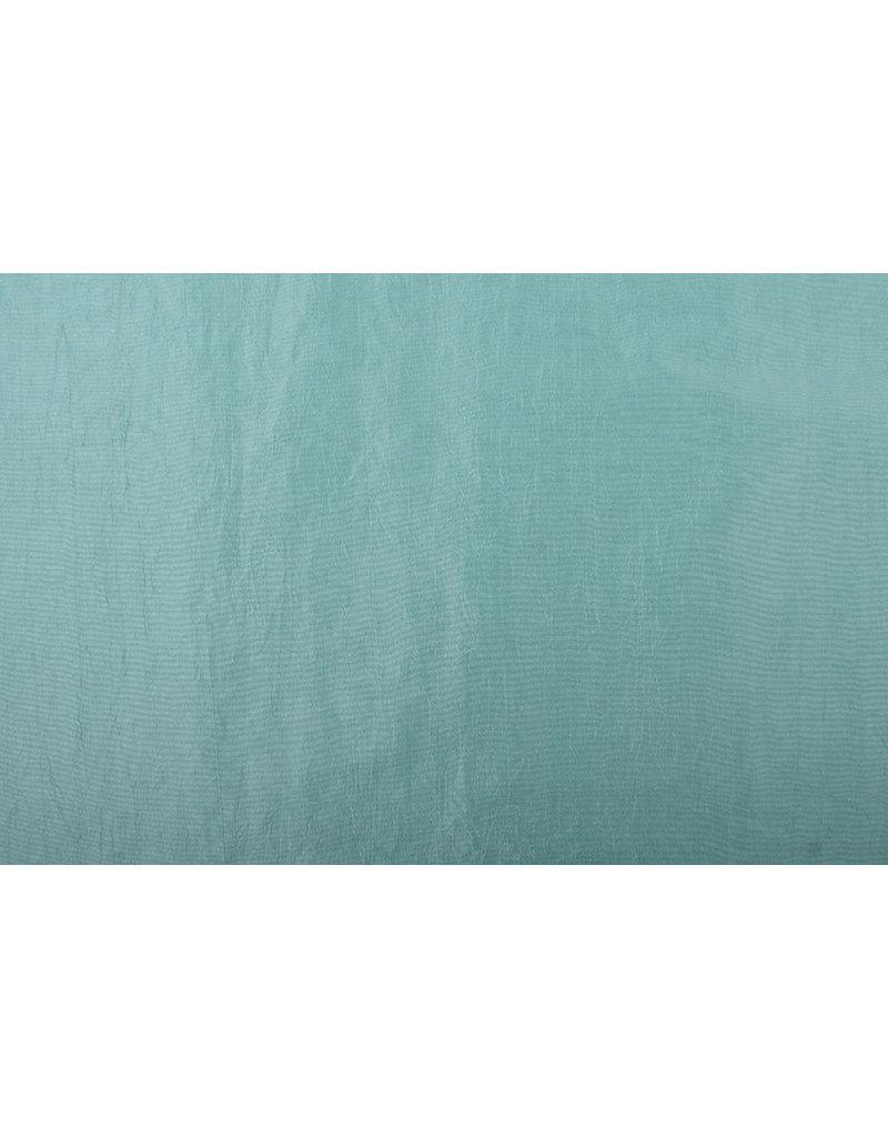 Crinkle Taft Minzgrün