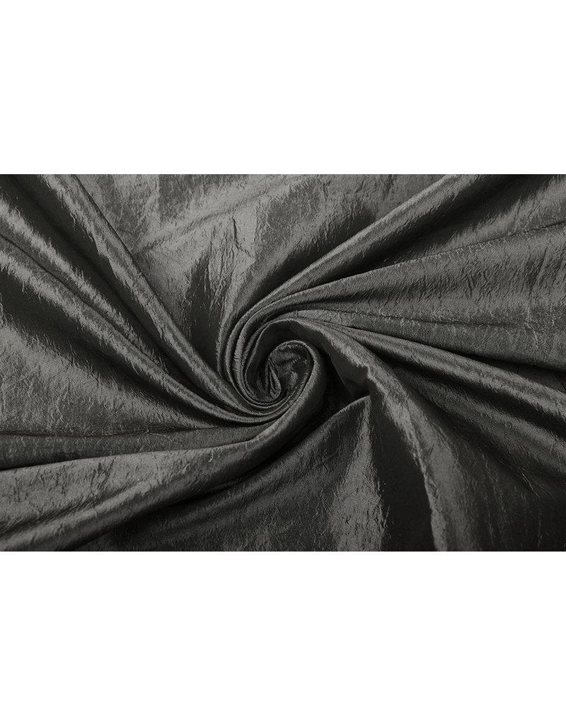 Crinkle Taft Grau