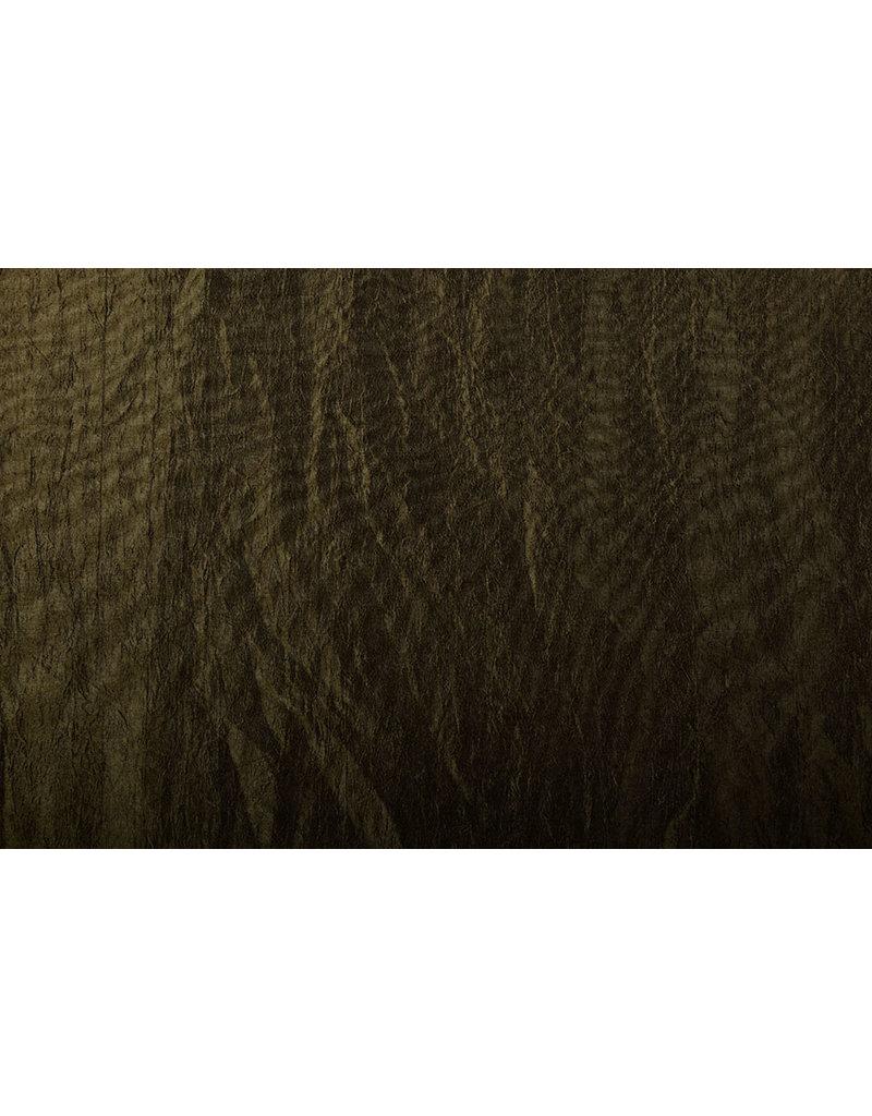 Crinkle Taft Army groen