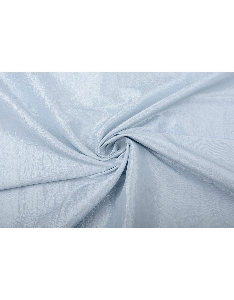 Crinkle Taft Grau-Blau