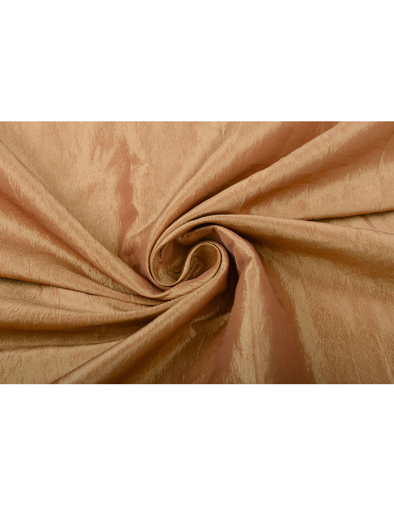 Crinkle Taft Orange-Gold
