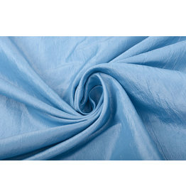 Crinkle Taft Baby Blue