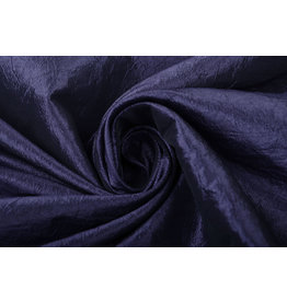 Crinkle Taft Dark Purple