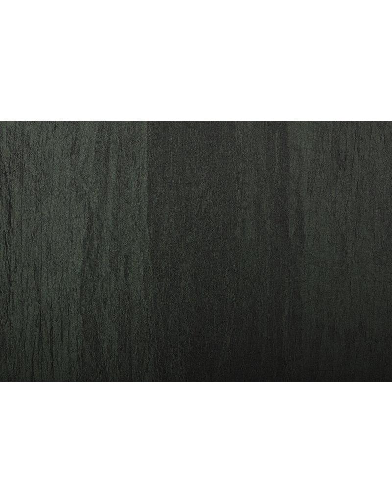 Crinkle Taft Dunkel-Armeegrün