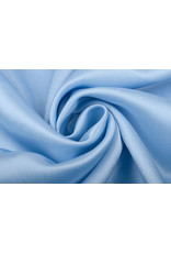 Crêpe Satijn Baby blauw