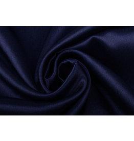 Krepp-Satin Marineblau
