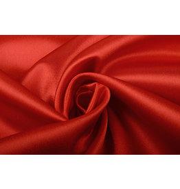 Crêpe Satin Red