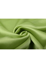 Krepp-Satin Limettengrün