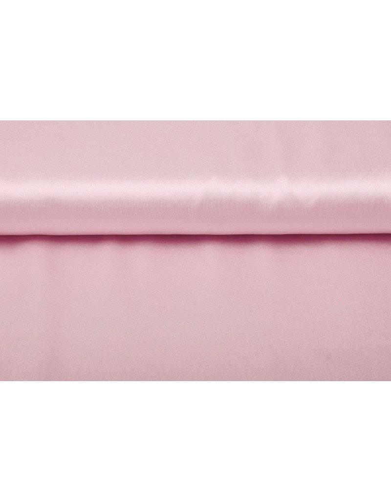 Crêpe Satijn Poeder roze