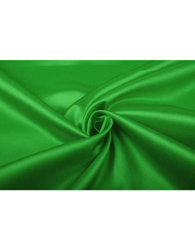 Krepp-Satin Grasgrün